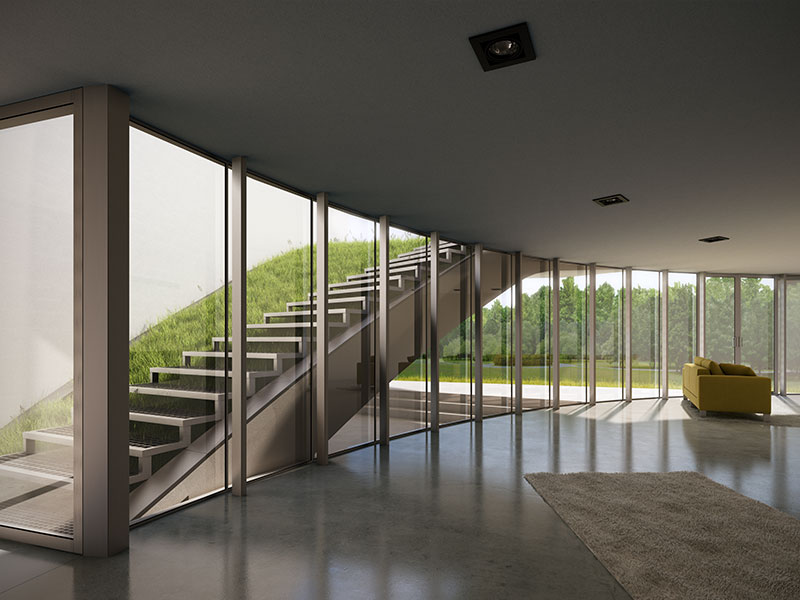 OUTrial House Interior Rendering